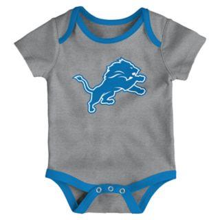 Baby Detroit Lions Little Tailgater Bodysuit Set