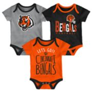 Baby Cincinnati Bengals Little Tailgater Bodysuit Set