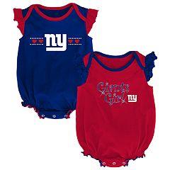 Baby Girl New York Giants Homecoming Bodysuit Set