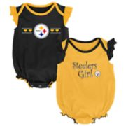 Baby Girl Pittsburgh Steelers Homecoming Bodysuit Set