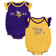 Baby Girl Minnesota Vikings Homecoming Bodysuit Set