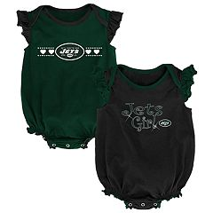 Baby Girl New York Jets Homecoming Bodysuit Set