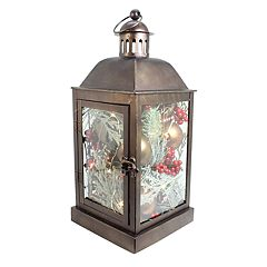 St. Nicholas Square® Light-Up Lantern Christmas Table Decor
