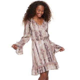 Juniors' American Rag Gauze Peasant Dress