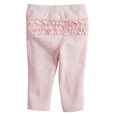 Baby Girl Jumping Beans® Ruffle-Back Leggings