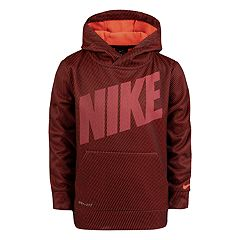 Boys 4-7 Nike Mesh Therma Dri-FIT Pullover Hoodie
