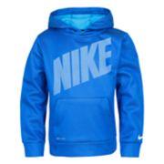 Boys 4-7 Nike Mesh Therma Dri-FIT Pullover Hoodie