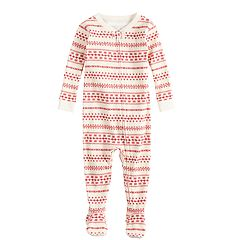 Baby/Infant LC Lauren Conrad Jammies For Your Families Knit Winter Fairisle One-Piece Pajamas