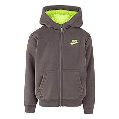 Boys 4-7 Nike Sherpa Fleece Futura Zip Hoodie
