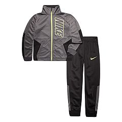 Boys 4-7 Nike Block Tricot Zip Track Jacket & Pants Set