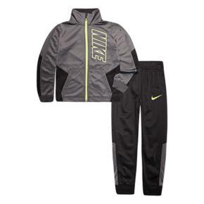 Boys 4-7 Nike Block Tricot Zip Track Jacket & Pants Set