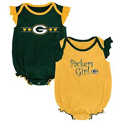 Baby Girl Green Bay Packers Homecoming Bodysuit Set