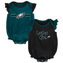 Baby Girl Philadelphia Eagles Homecoming Bodysuit Set