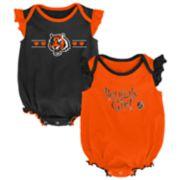 Baby Girl Cincinnati Bengals Homecoming Bodysuit Set