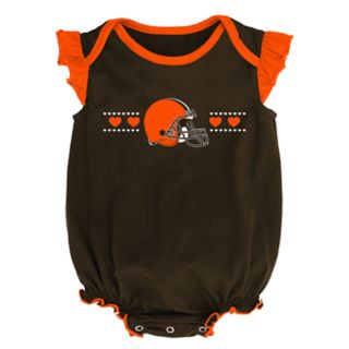 Baby Girl Cleveland Browns Homecoming Bodysuit Set