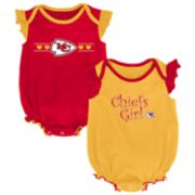 Baby Girl Kansas City Chiefs Homecoming Bodysuit Set