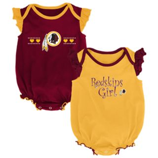 Baby Girl Washington Redskins Homecoming Bodysuit Set