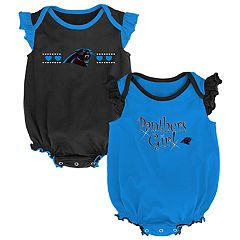 Baby Girl Carolina Panthers Homecoming Bodysuit Set
