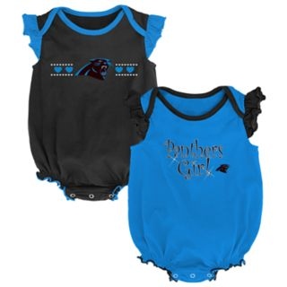 Baby Girl Carolina Panthers Homecoming Bodysuit Set