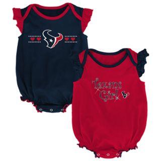 Baby Girl Houston Texans Homecoming Bodysuit Set