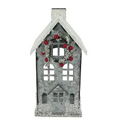 St. Nicholas Square® Small House Lantern Christmas Decor