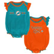 Baby Girl Miami Dolphins Homecoming Bodysuit Set