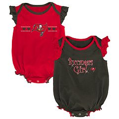 Baby Girl Tampa Bay Buccaneers Homecoming Bodysuit Set