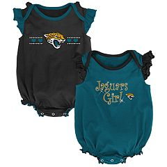 Baby Girl Jacksonville Jaguars Homecoming Bodysuit Set
