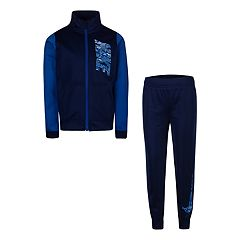 Boys 4-7 Nike Colorblock Zip Track Jacket & Jogger Pants Set
