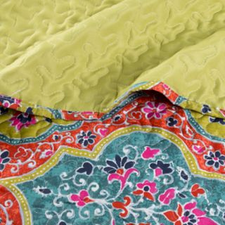 Arlene Embossed Reversible Quilt Set by Portsmouth Home