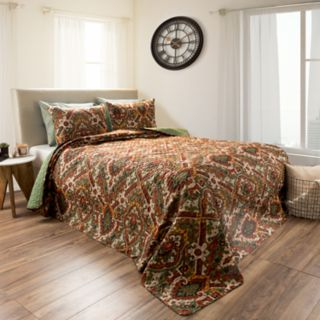 Selena Embossed Reversible Quilt Set by Portsmouth Home