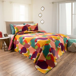 Evelyn Embossed Reversible Quilt Set by Portsmouth Home