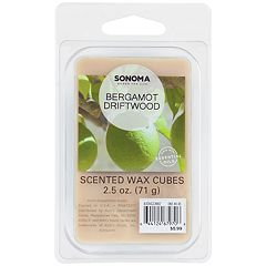 SONOMA Goods for Life™ Bergamot & Driftwood Wax Melt 6-piece Set