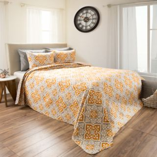 Vivian Embossed Reversible Quilt Set by Portsmouth Home