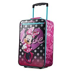 American Tourister Disney Minnie Mouse 18-Inch Wheeled Carry-On Luggage