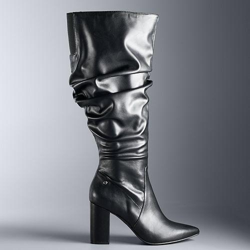 Simply Vera Vera Wang Flicker Women's Tall Boots