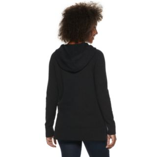 Women's SONOMA Goods for Life? Ribbed Long Hoodie