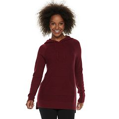 Women's SONOMA Goods for Life™ Ribbed Long Hoodie