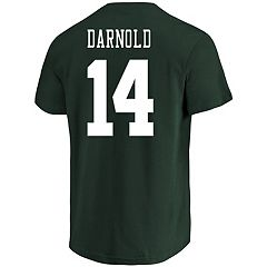 Men's Majestic New York Jets Sam Darnold Eligible Receiver Tee