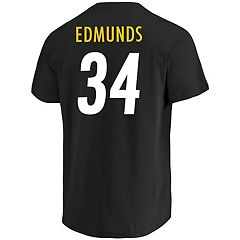 Men's Majestic Pittsburgh Steelers Terrell Edmunds Eligible Receiver Tee
