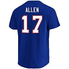 Men's Majestic Buffalo Bills Josh Allen Eligible Receiver Tee