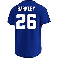 Men's Majestic New York Giants Saquon Barkley Eligible Receiver Tee