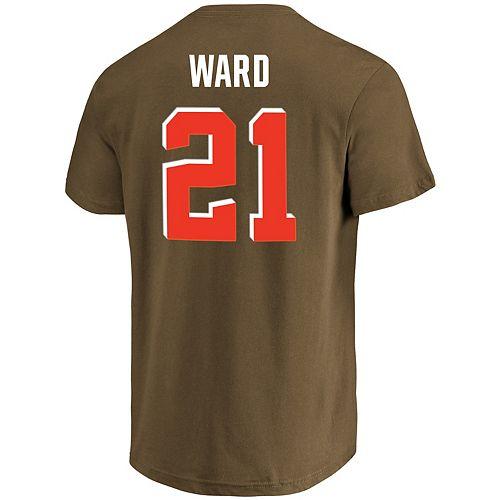 sports shoes 66317 569c6 Men's Majestic Cleveland Browns Denzel Ward Eligible ...