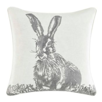 Laura Ashley Lifestyles Bunny Throw Pillow