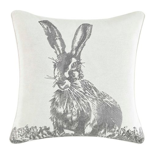 Laura Ashley Bunny Throw Pillow