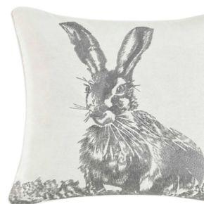 Laura Ashley Bunny Throw Pillow