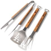 Los Angeles Dodgers Classic Series 3-Piece Grill Tongs, Spatula & Fork BBQ Set