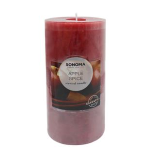 SONOMA Goods for Life? Apple Spice 19.4-oz. Pillar Candle