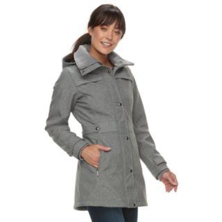 Women's Weathercast Hooded Soft Shell Anorak Jacket