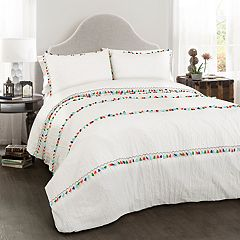 Lush Decor Boho Tassel 3-piece Comforter Set